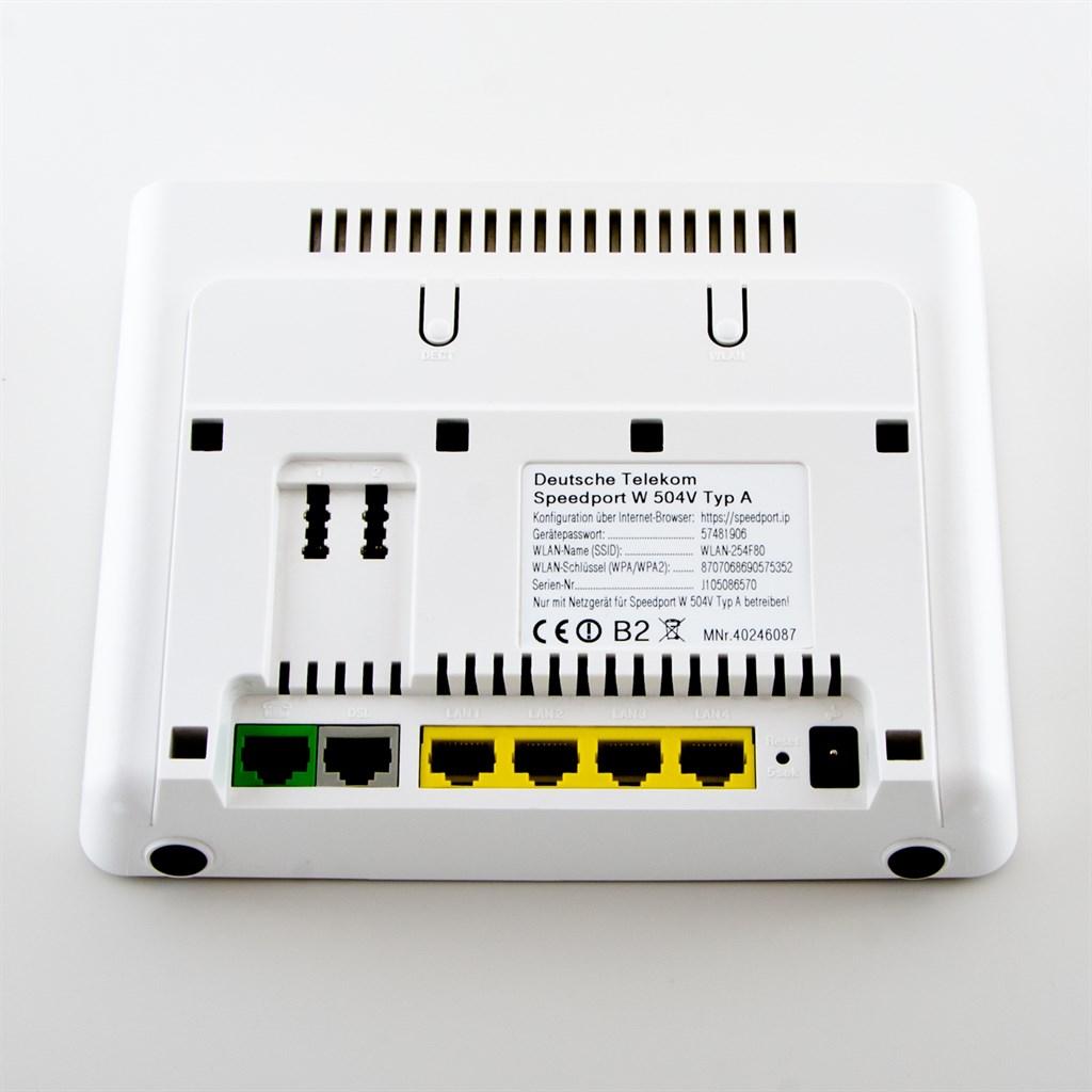 wlan router und modem in einem gerät