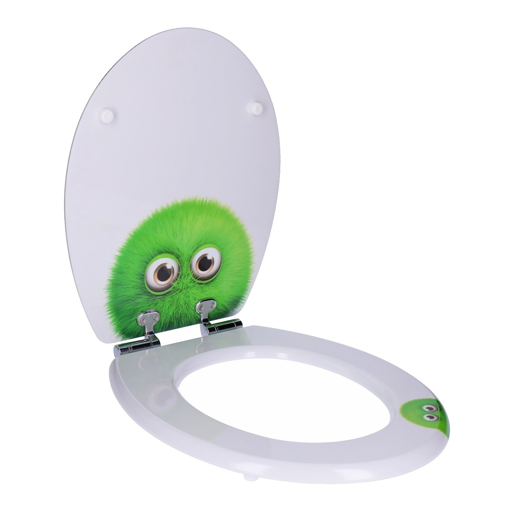 Indexbild 187 - WC- Sitz mit Absenkautomatik | Toilettendeckel Klodeckel Toilettensitz Klobrille