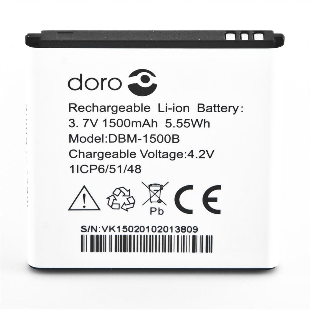 Doro Akku 3,7V 1500mAh für Liberto 820 mini Bulk | eBay