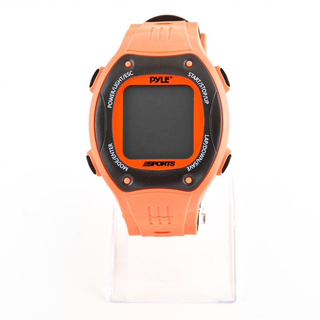 pyle digital uhr led mit navigation gps orange. Black Bedroom Furniture Sets. Home Design Ideas