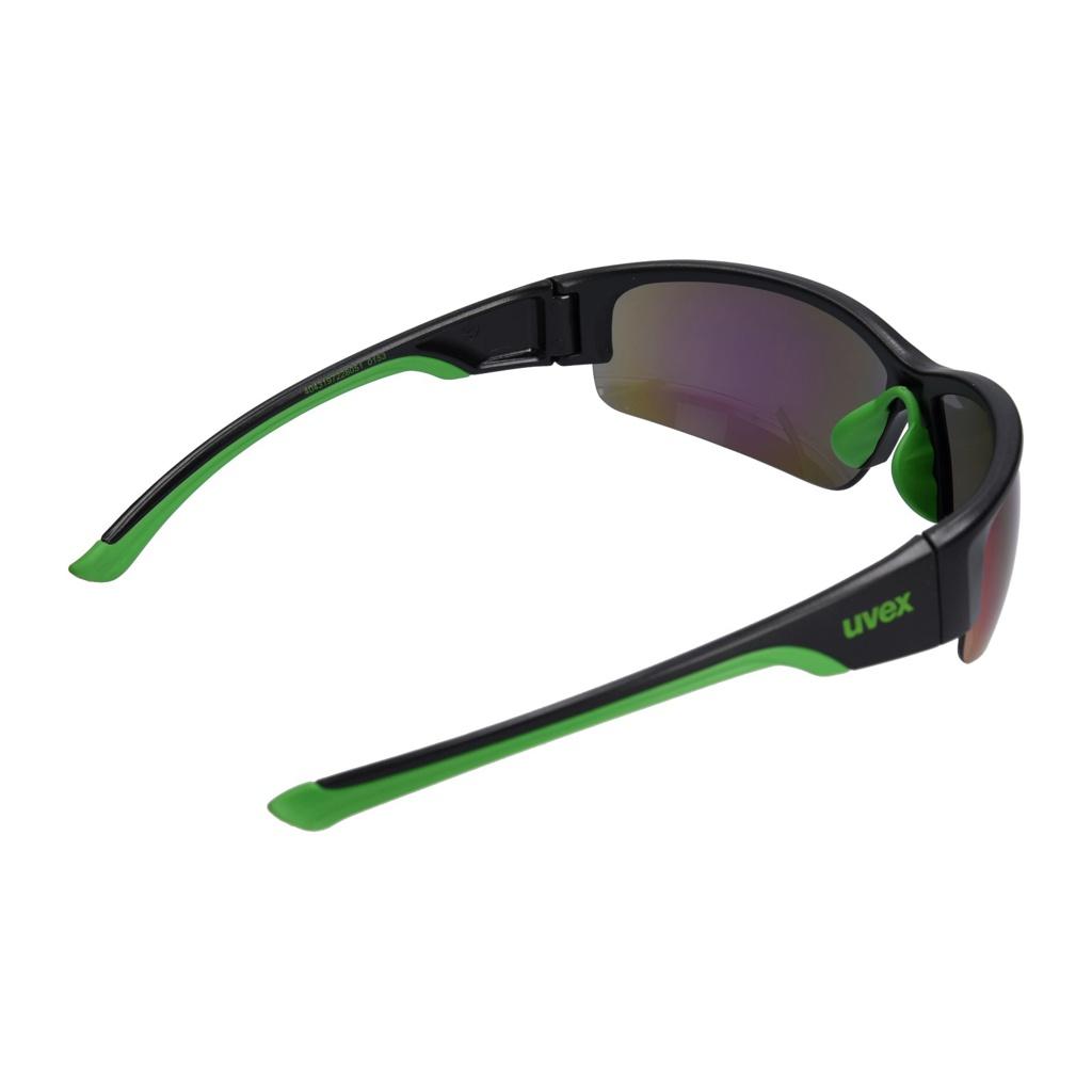 UVEX SONNENBRILLE SPORTSTYLE 215 black mat green