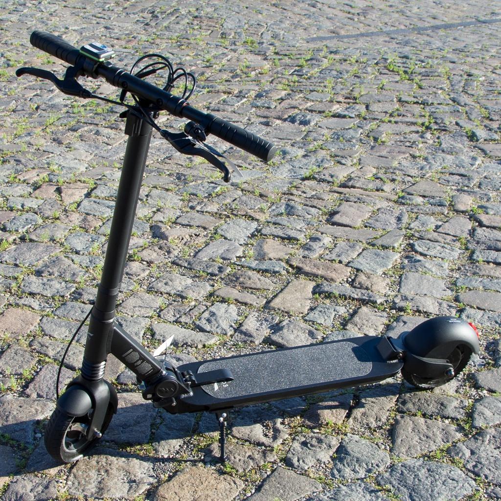 Egret Eight V2 e-Scooter mit Vollfederung